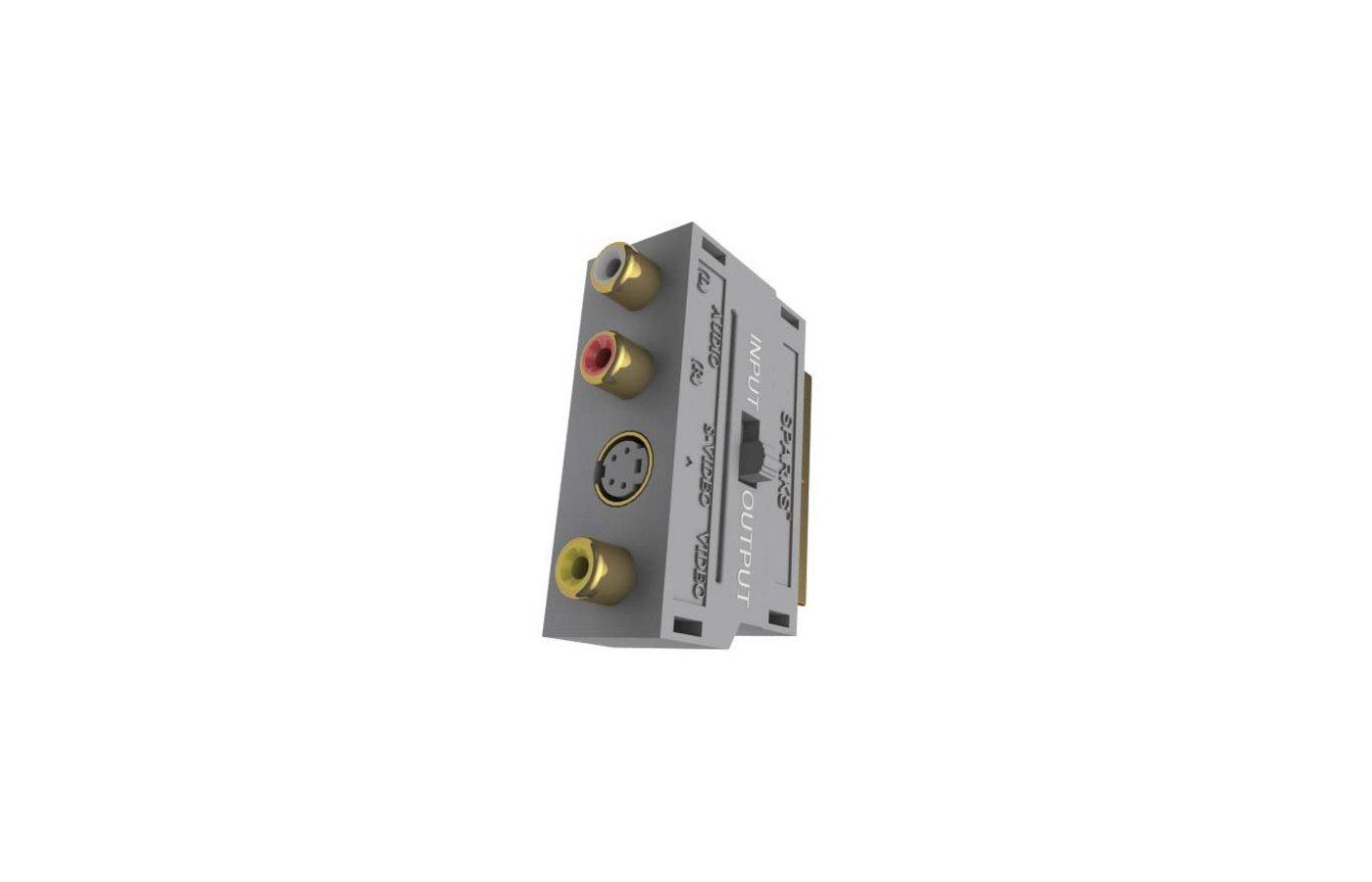 Переходник SPARKS SG 1102 SCART(m) - 3xRCA(f)