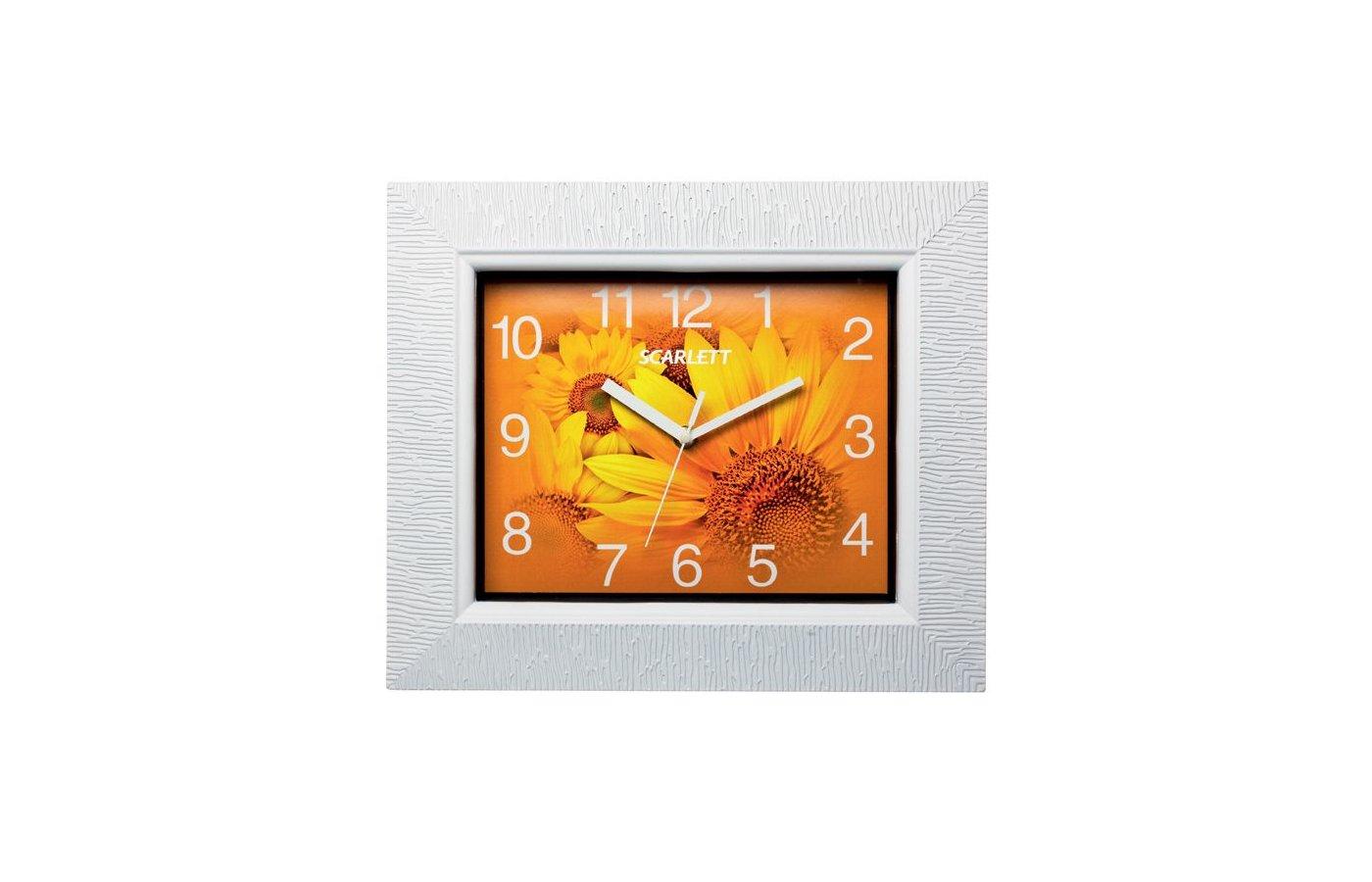 Часы настенные Scarlett 25O плавный ход