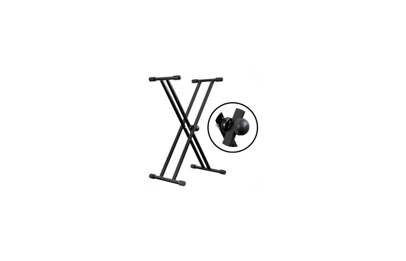 Музыкальный инструмент VISION AP-3222 (XХ-образная) стойка клавишная