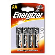 Фото Батарейка Energizer Base AA BL3+1