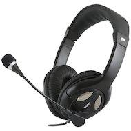 Наушники с микрофоном проводные SVEN AP-670MV черные