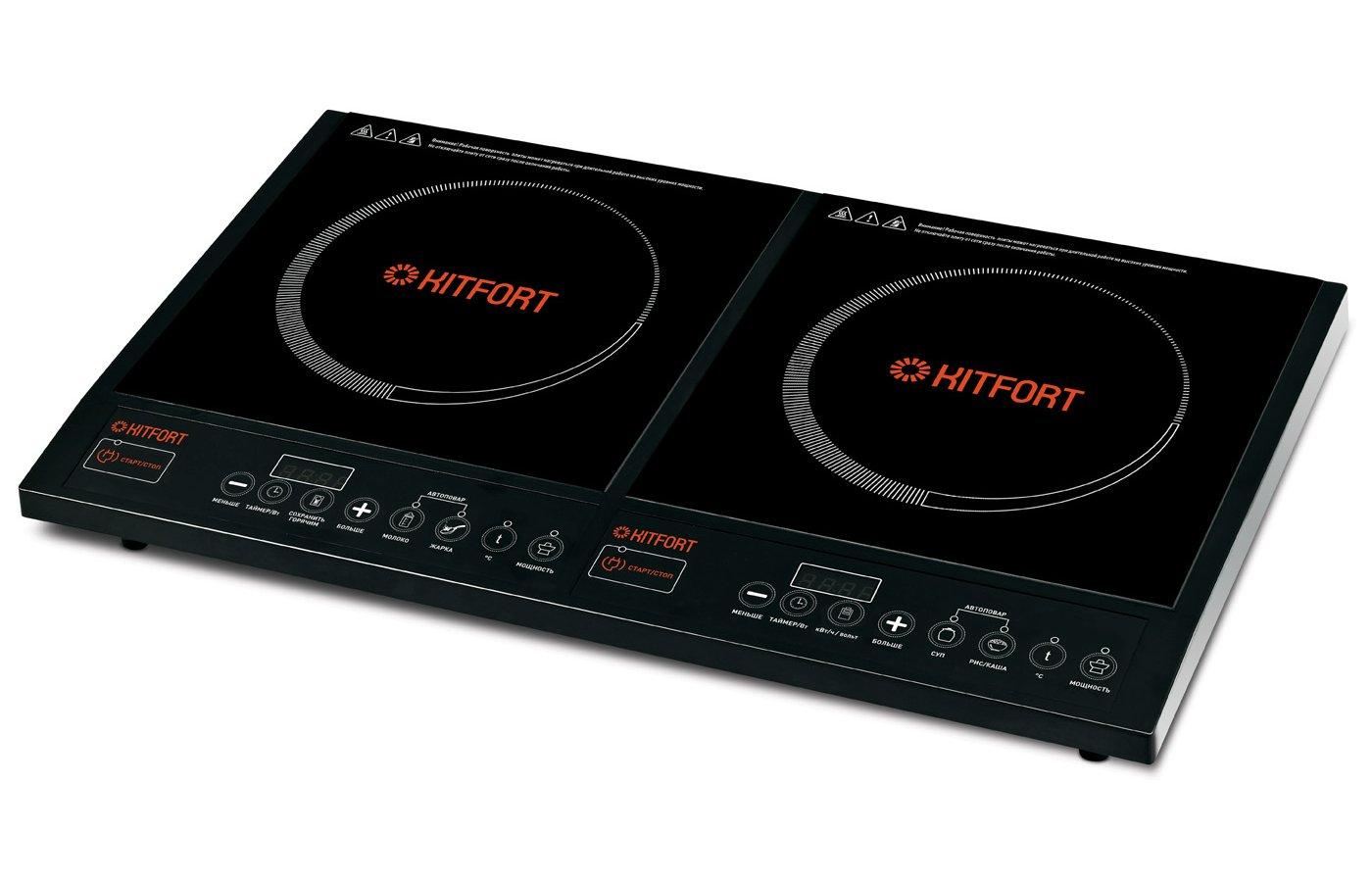 Плитка электрическая KITFORT KT-104