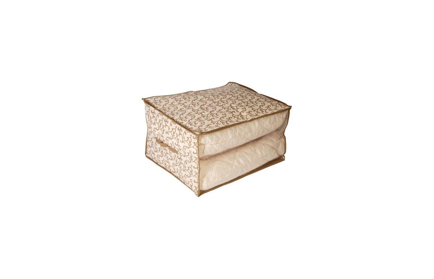 Емкости для хранения одежды HAUSMANN AA003 Хранен. Кофр для хранения одеял 60х50х35