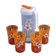 Фото Посуда для напитков EXCOOK 7938 Кувшин с 4 стаканами