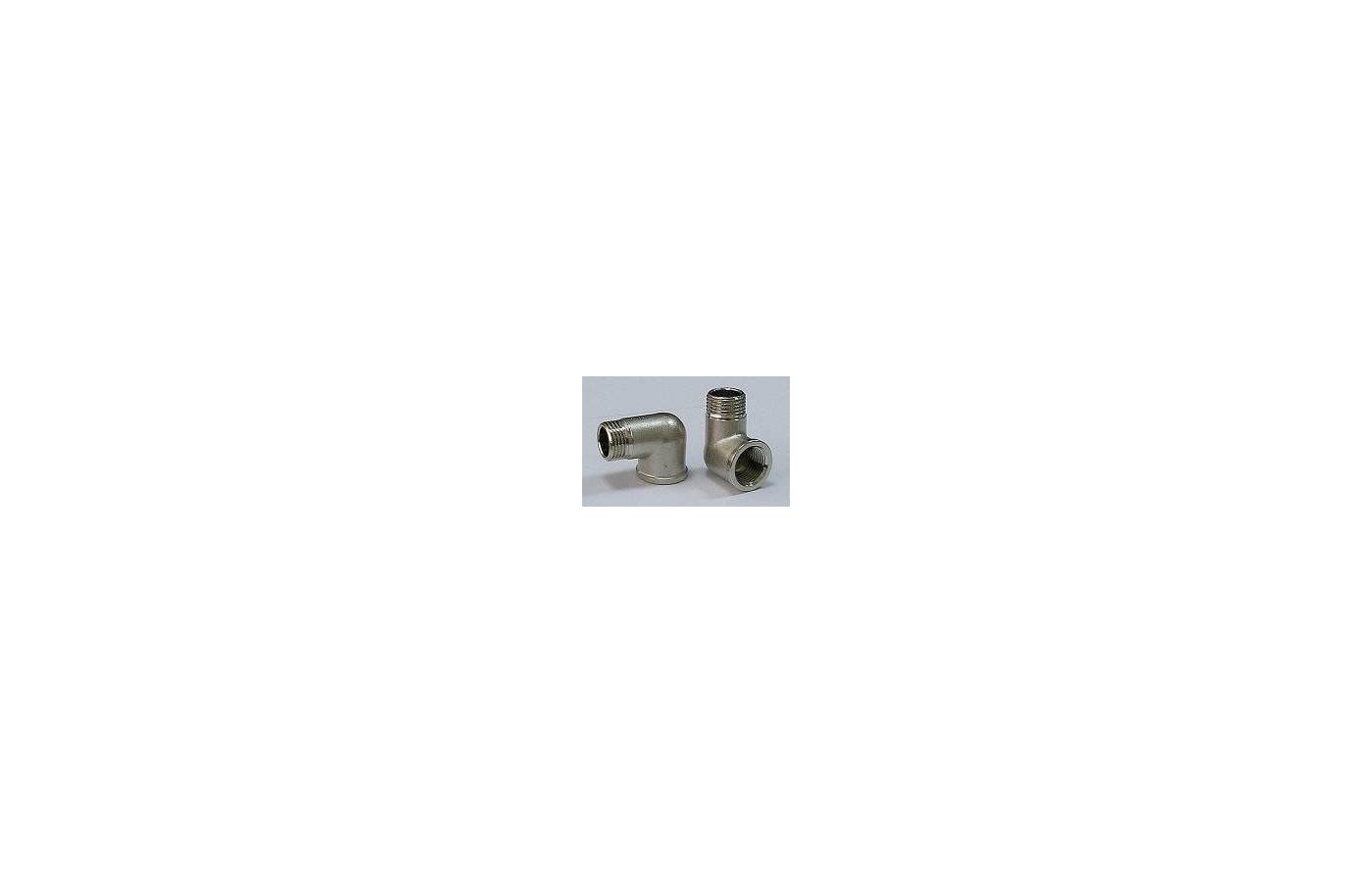 Аксессуары для подключения стиральных машин UDI Уголок 1/2 г/ш ник.