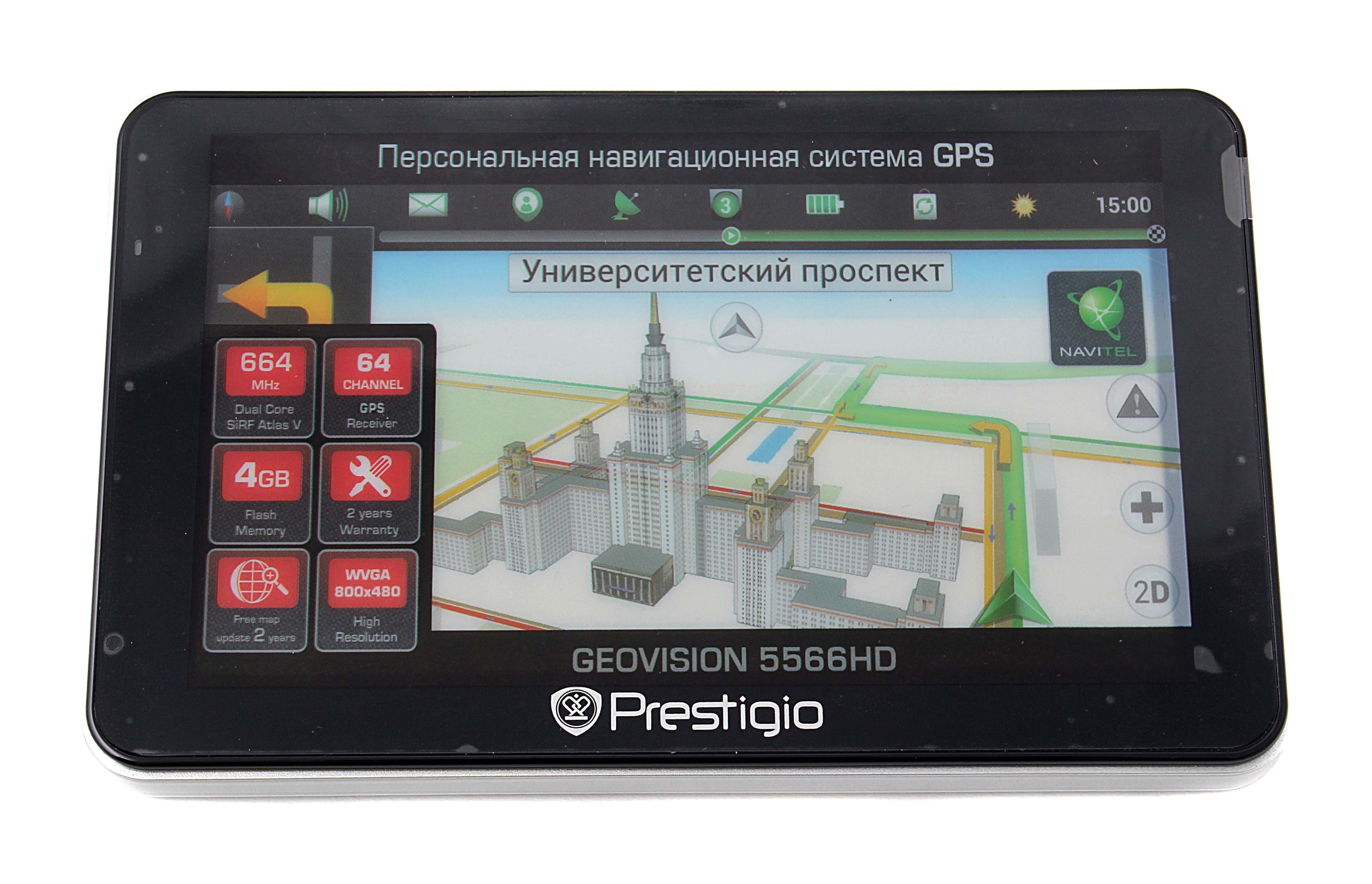 Навигатор Prestigio Real Brand Technics 2910.000