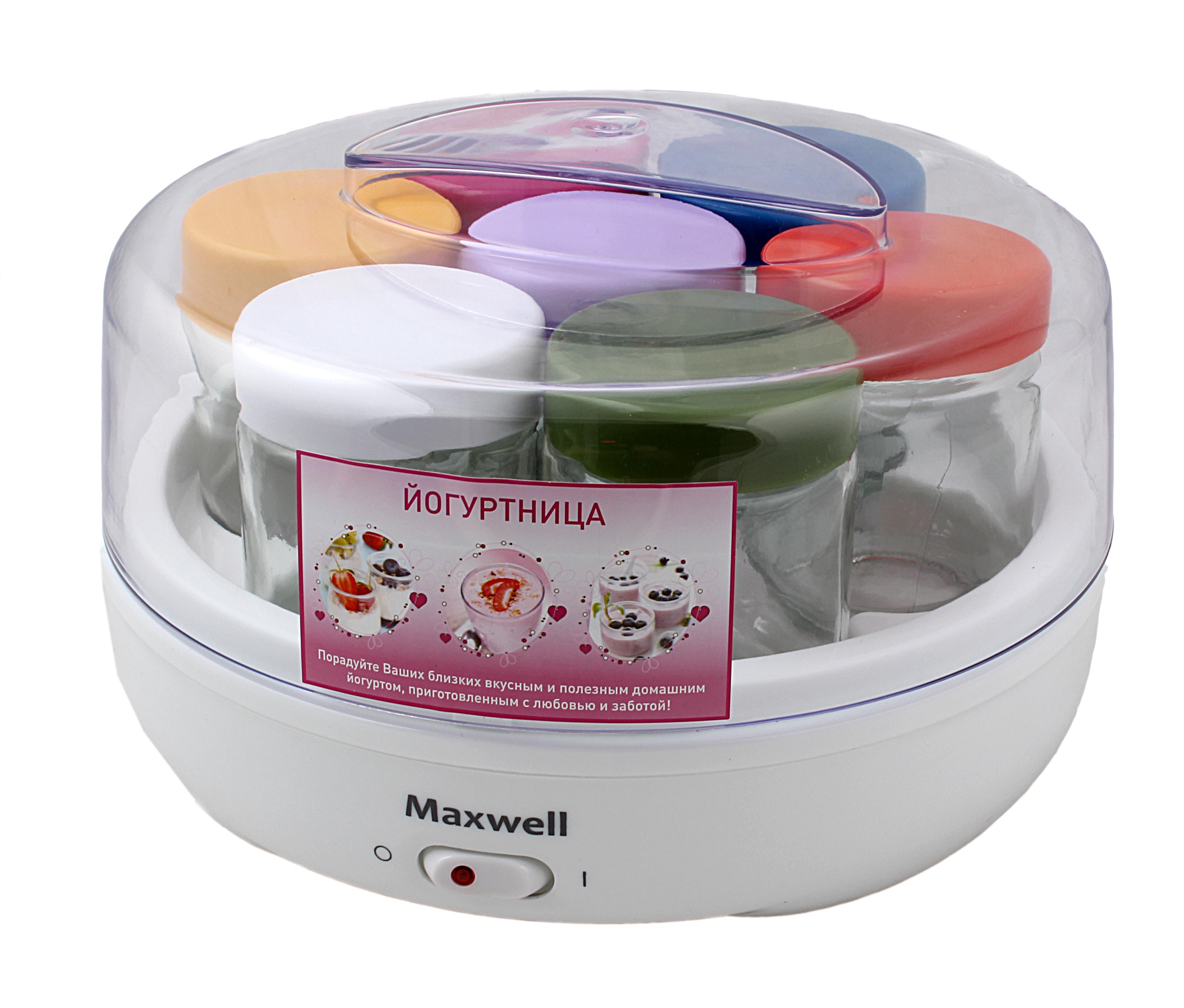 Йогуртницы Maxwell Real Brand Technics 960.000