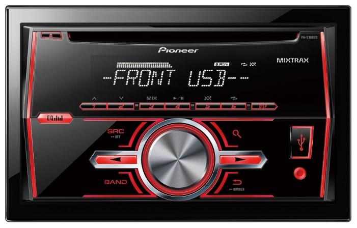 Купить pioneer deh-x2700ui автомагнитола с usb отличная цена гарантия быстрая доставка +38(099)