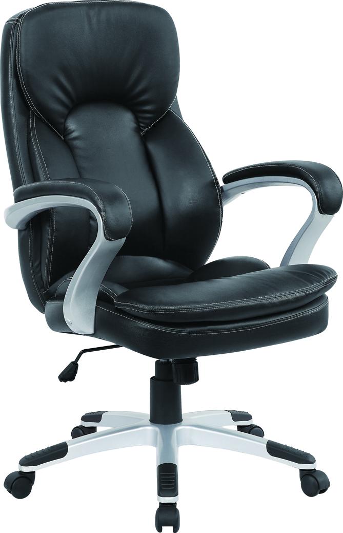 Кресло Excomp by-6303 кресло/кожзам/черный