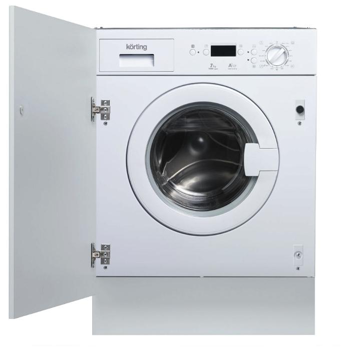 Встраиваемые стиральные машины Korting