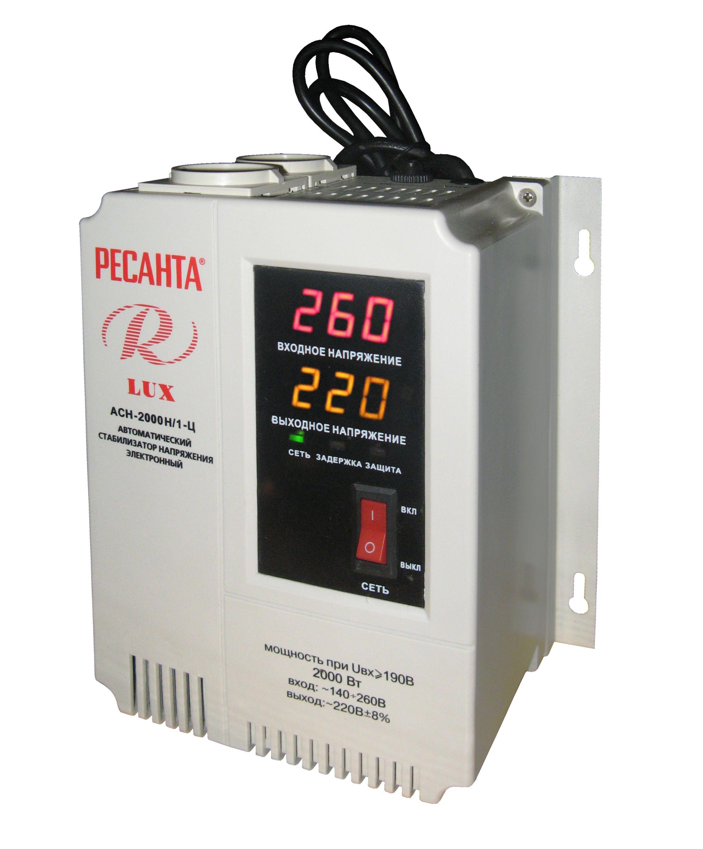 Стабилизатор напряжения Ресанта Real Brand Technics 2149.000