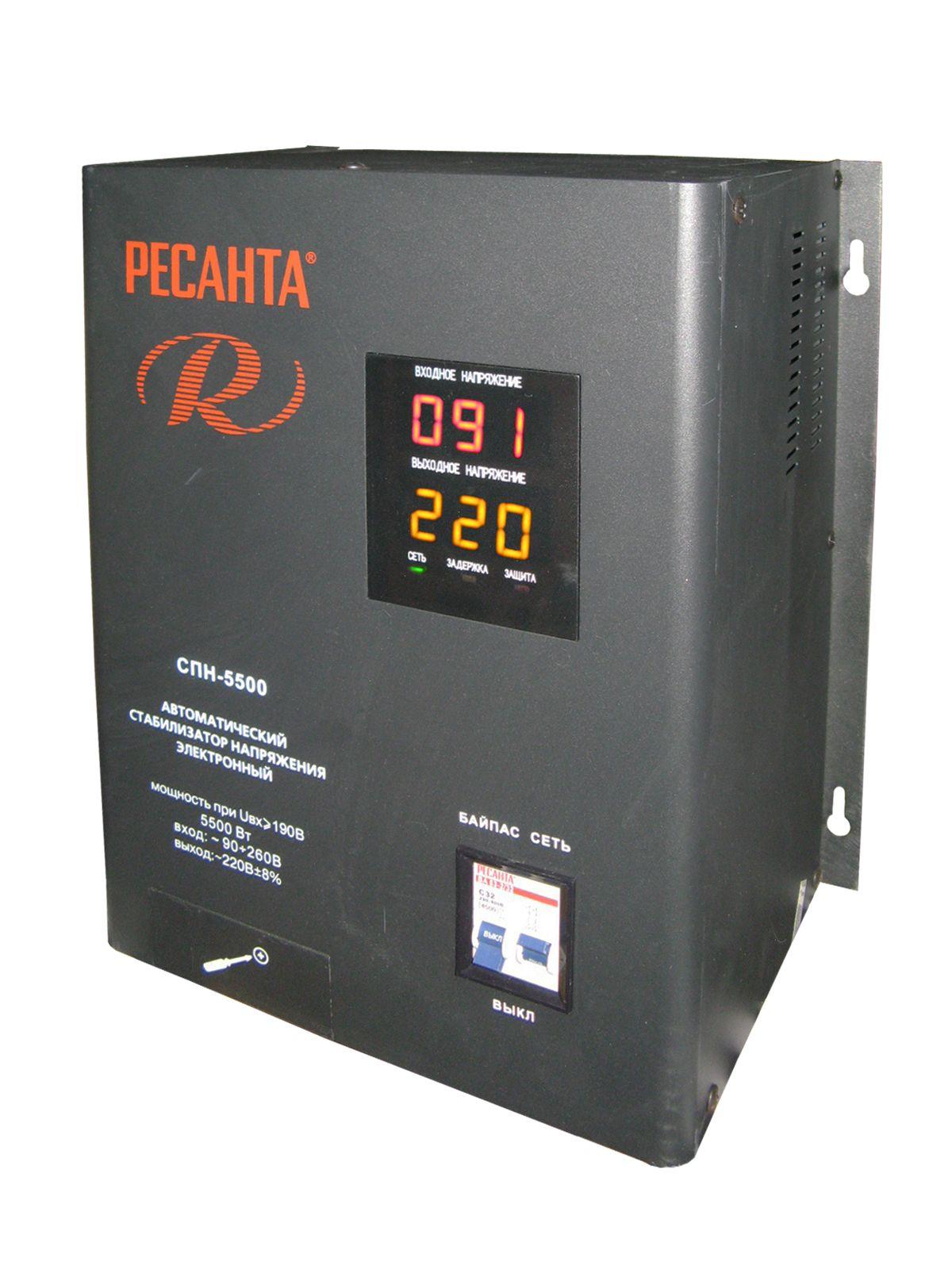 Стабилизатор напряжения Ресанта Real Brand Technics 6293.000