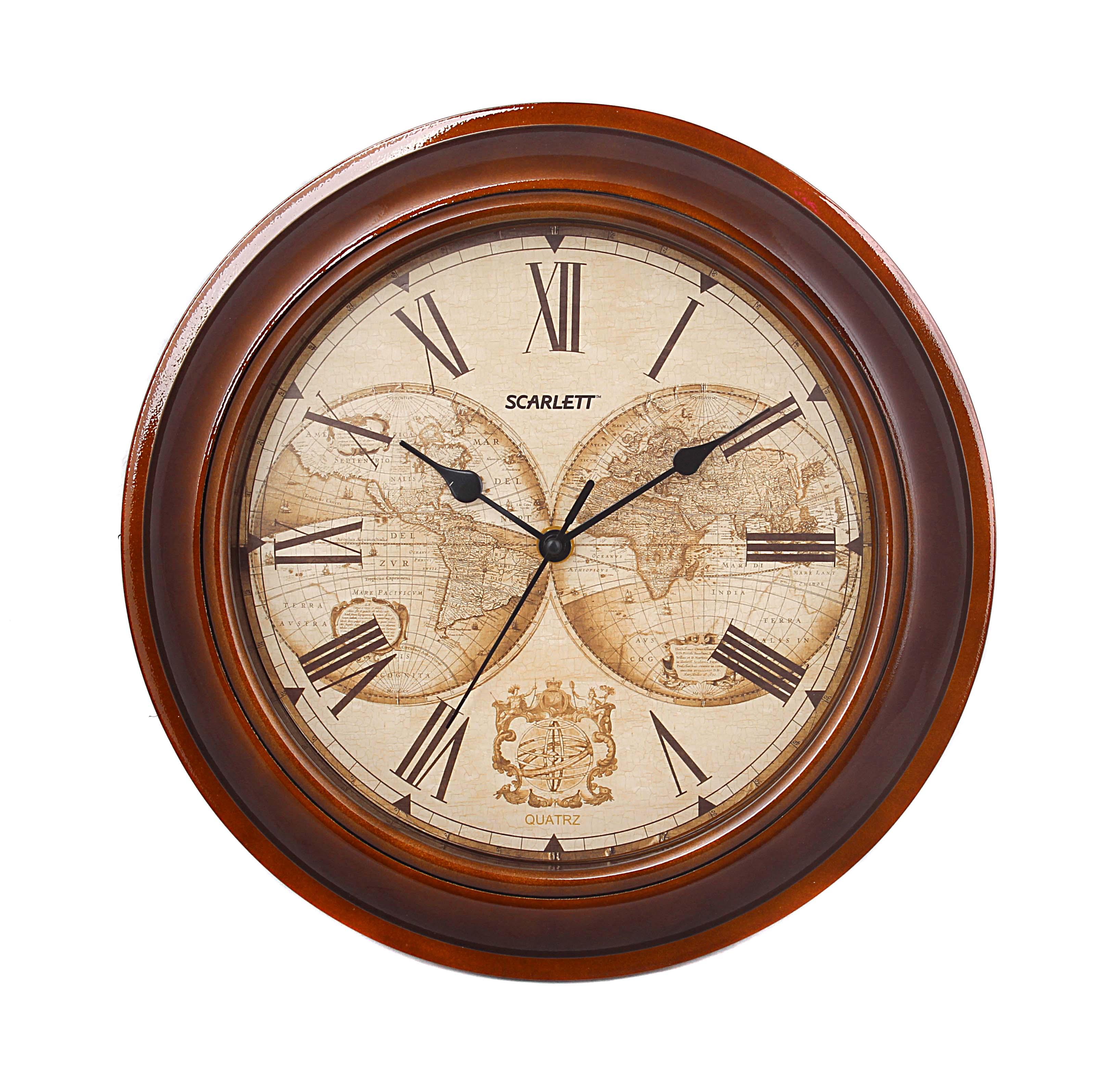 Часы настенные Scarlett Real Brand Technics 474.000