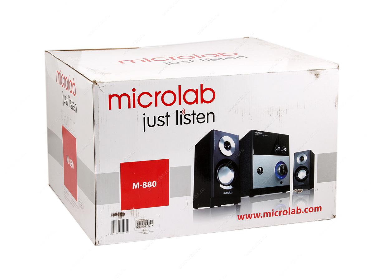 Фото Компьютерные колонки Microlab M-880 черные