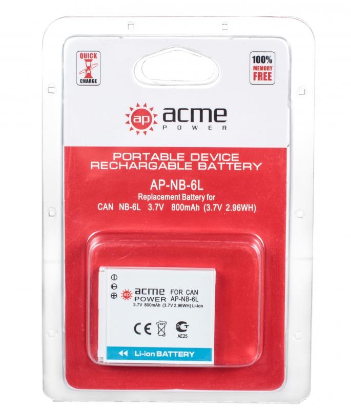 AcmePower NB-6L Li-Ion для Canon