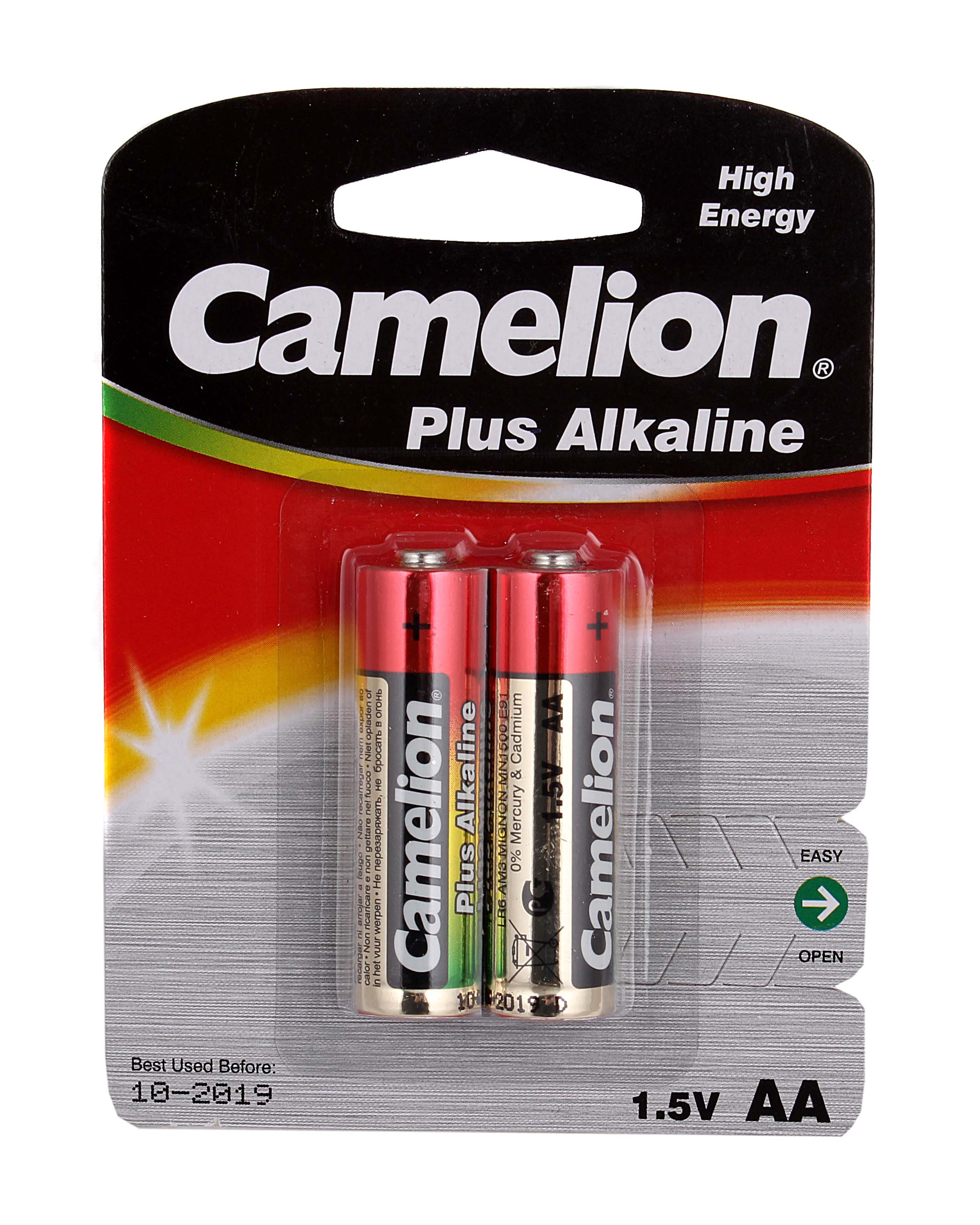 Батарейки Camelion Real Brand Technics 75.000