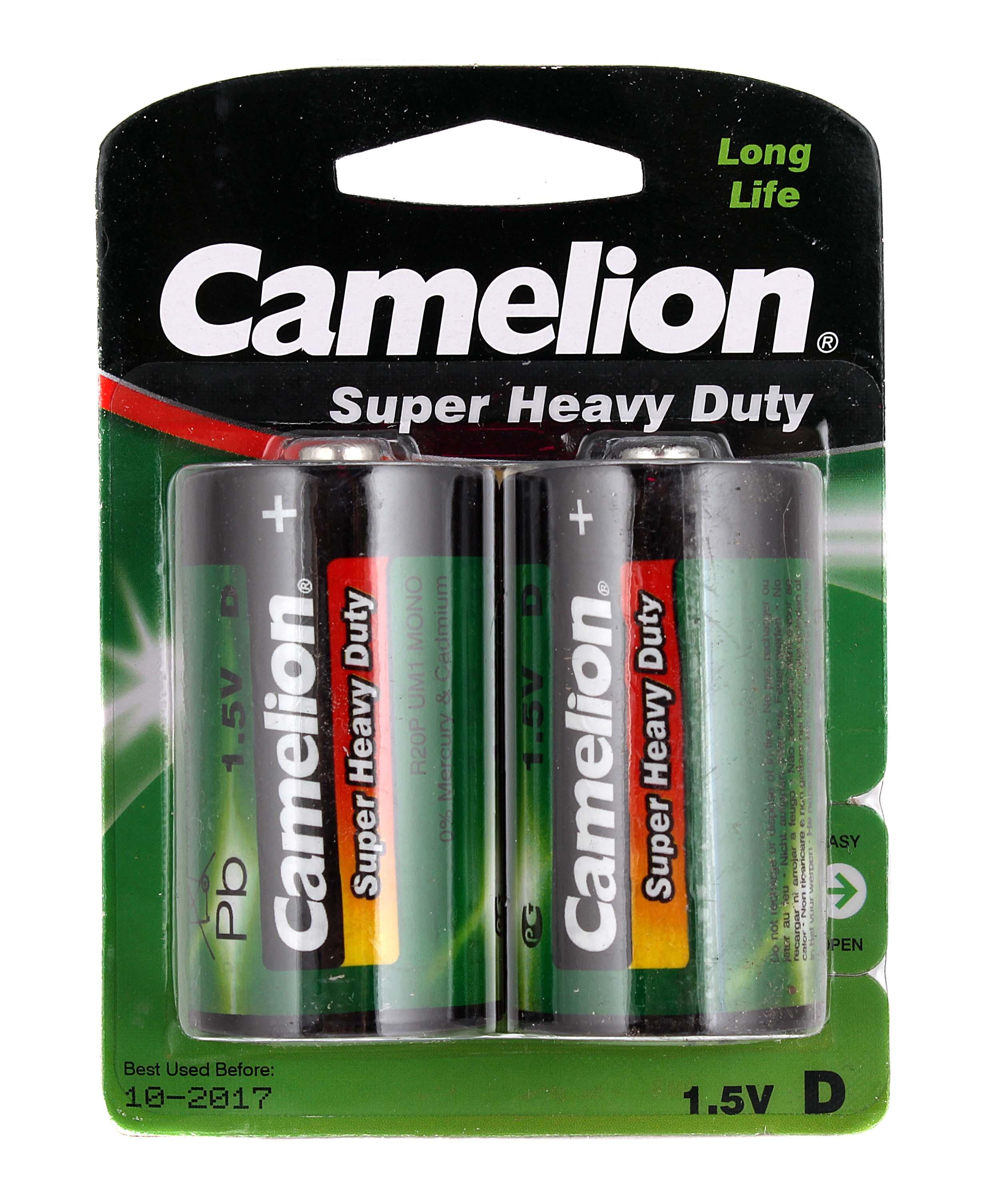 Батарейки Camelion Real Brand Technics 85.000