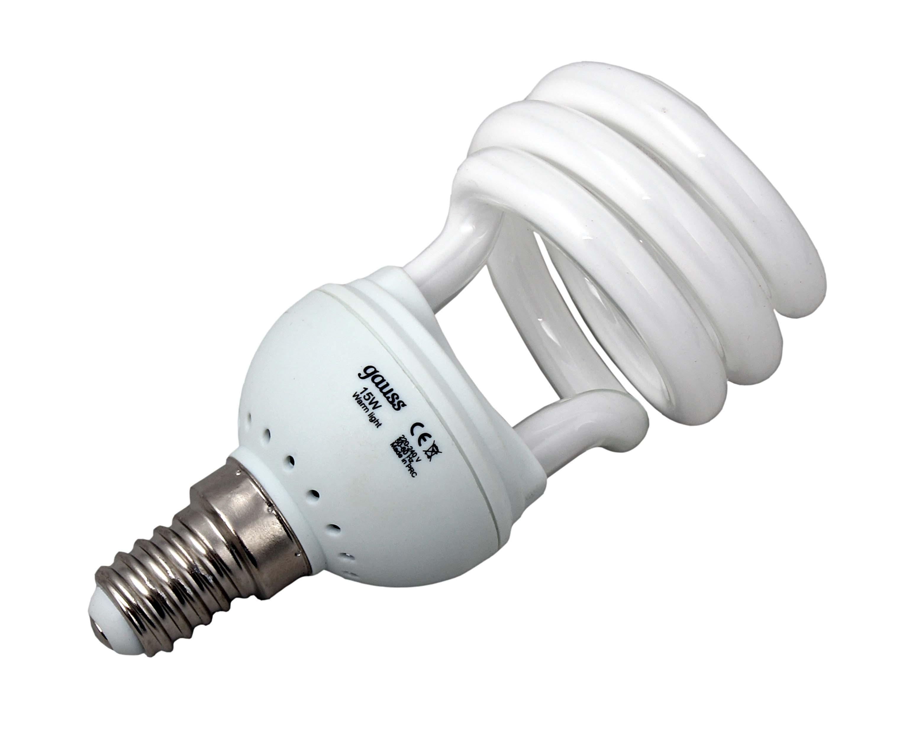 Лампочки энергосберегающие Gauss