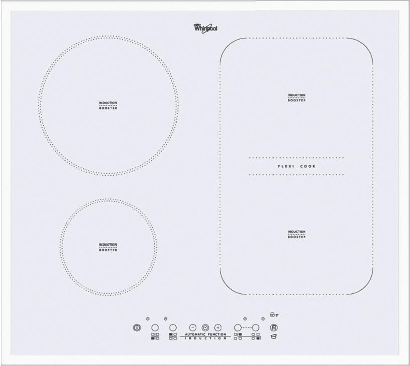 Встраиваемая поверхность Whirlpool Real Brand Technics 30999.000