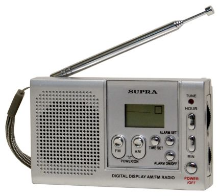 Радиоприемник Supra Real Brand Technics 569.000