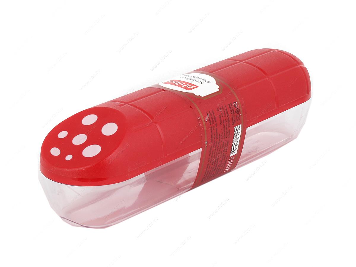 контейнеры для продуктов Бытпласт - БытпластТип: контейнер; Материал: полистирол; Изготовитель: Россия<br><br>Материал: полистирол