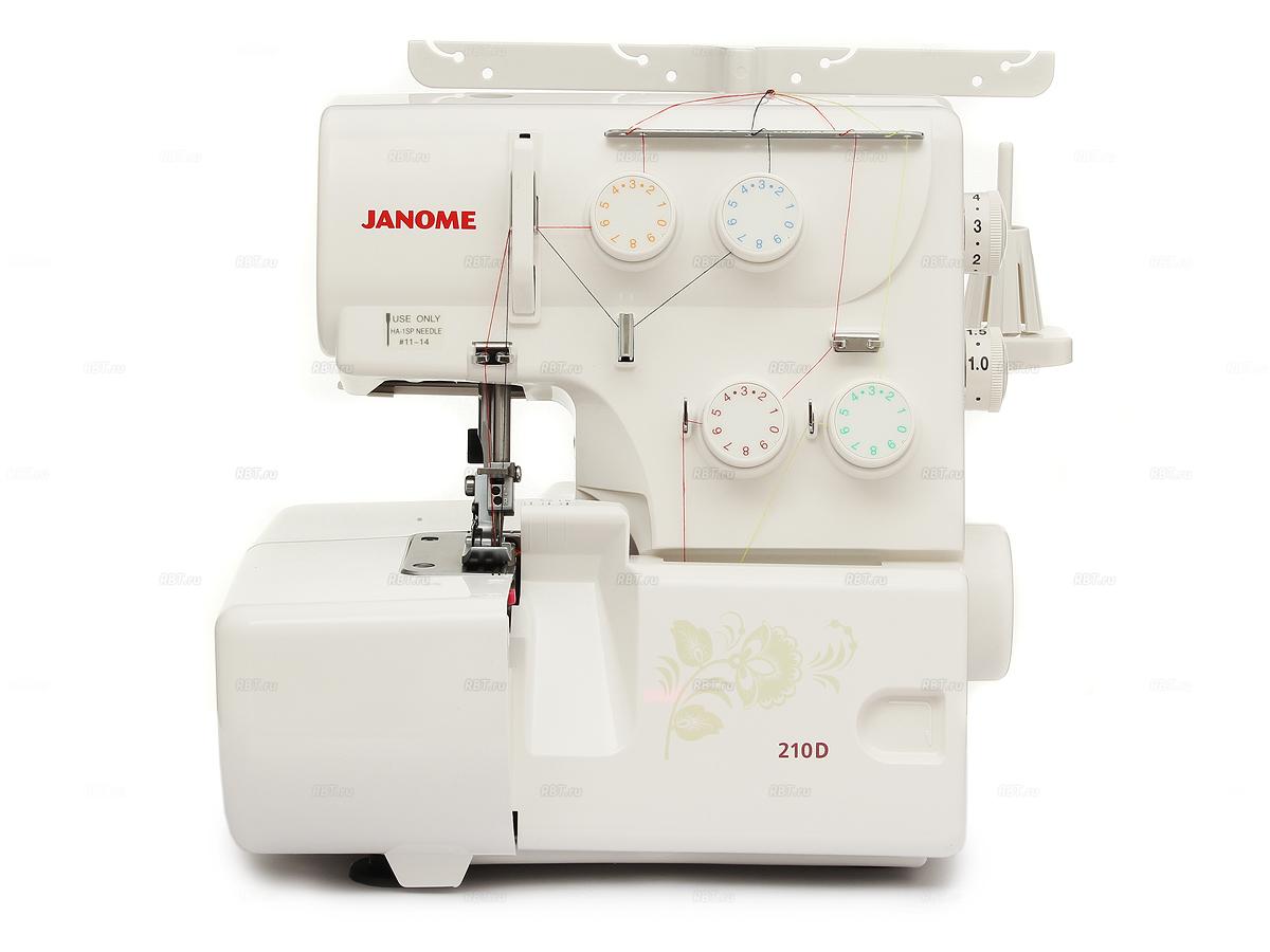 Оверлок Janome