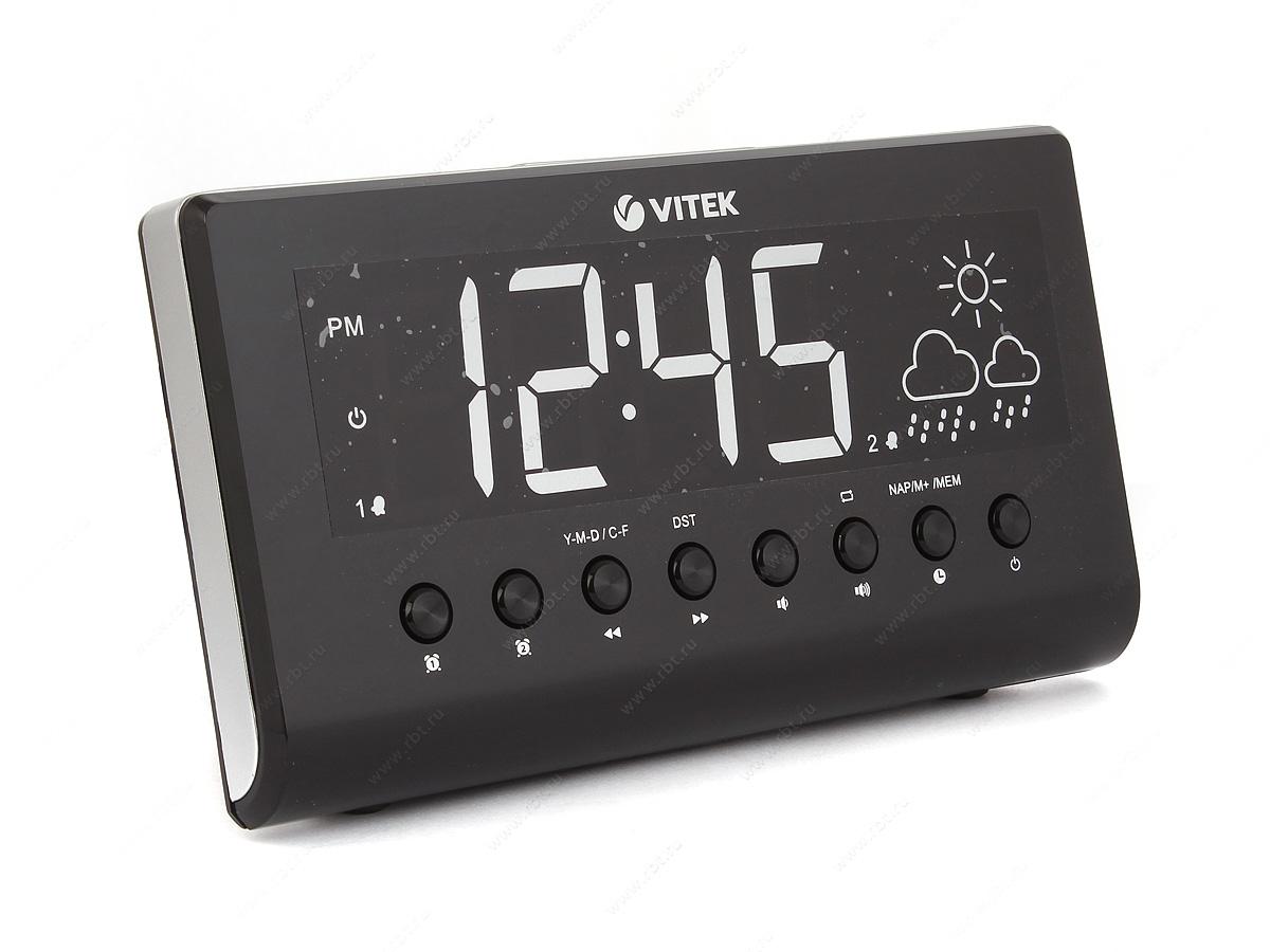 Настольные часы Vitek