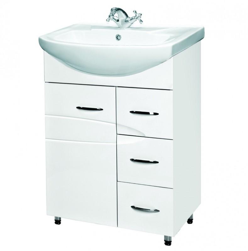 Купить Мебель для ванной комнаты concept 500 тумба для умывальников элеганс 50 венге  Тумба Rosa