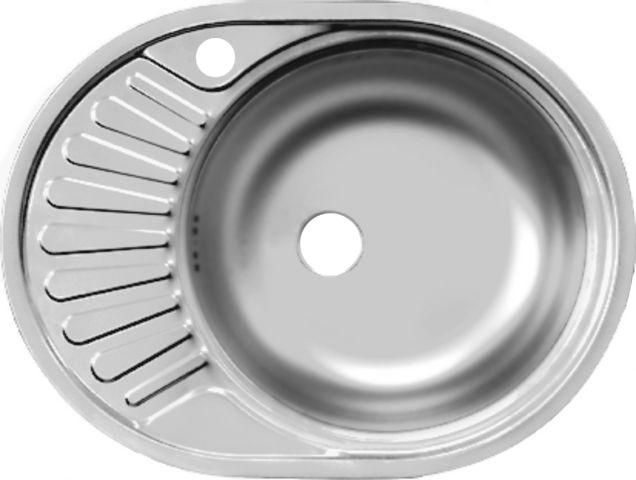 Купить Мойки для кухни 117/fad577.447-gt6k 1r фаворит кухонная мойка матовая 3.5  Кухонная мойка Ukinox