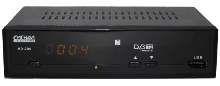 DVB-T2 ресивер Сигнал