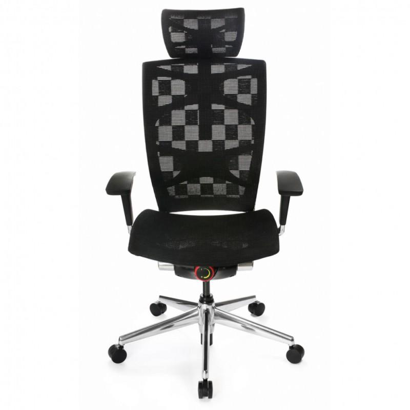 Кресло Бюрократ 811/black кресло руководителя, черный, клетка сетка, крестовина алюминий