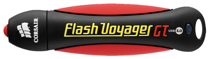 Фото Флеш-диск Corsair 32Gb Voyager GT CMFVYGT3B-32GB USB3.0 черный/красный