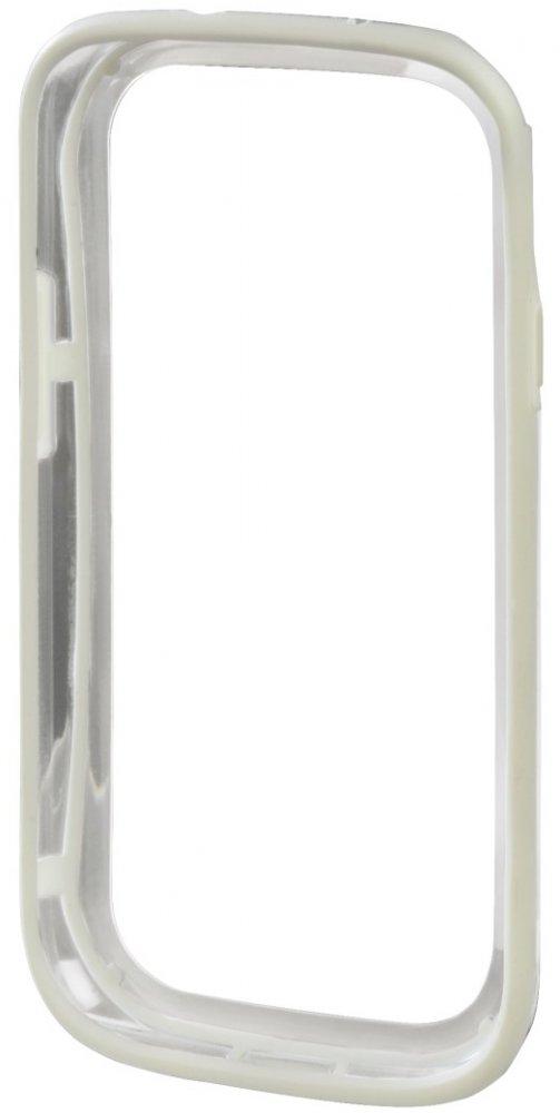 Чехол Hama для Galaxy S3 H-87791 Edge Protector пластик бел/прозрачн