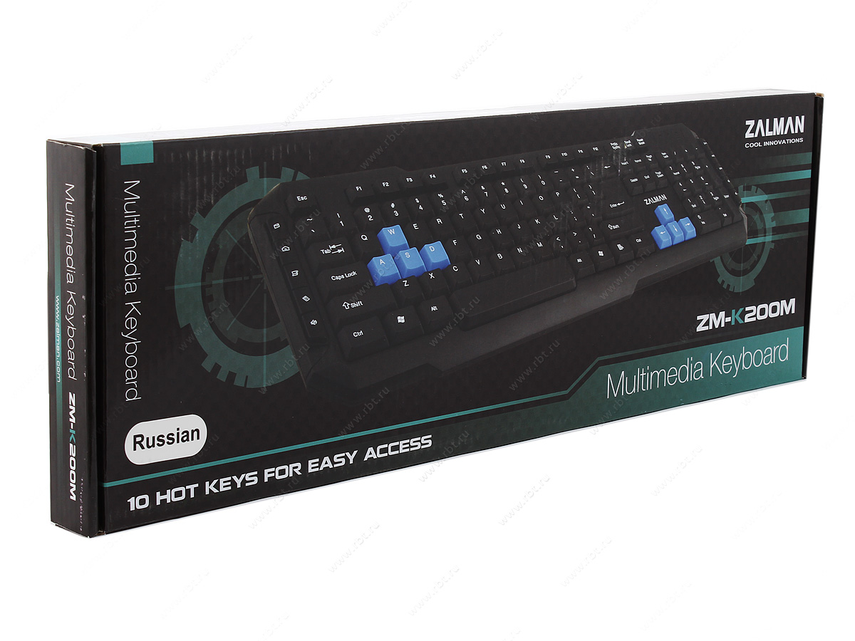 Клавиатура проводная Zalman
