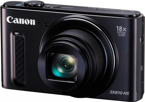 Фотокамера CANON PowerShot SX610 HS black