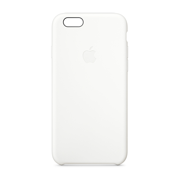 Купить Чехлы и сумки для телефонов для iphone 6 silicone case white (mgqg2zm/a)  Чехол Apple
