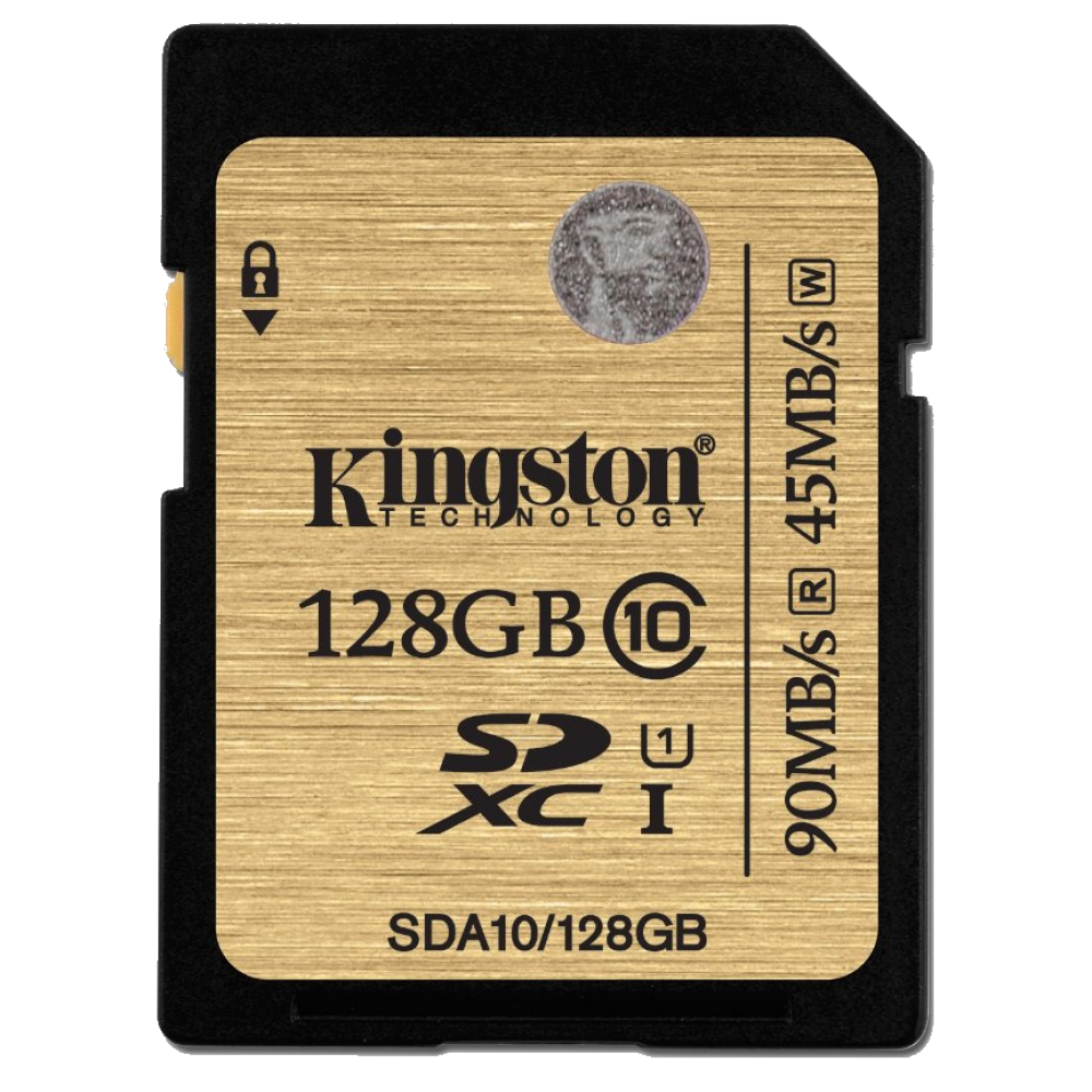 Карта памяти Kingston SDXC 128Gb Class 10 UHS-I Ultimate (SDA10/128GB)