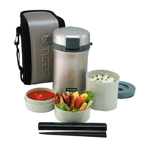 Купить Термосы lwu-b200 warm silver для еды с контейнерами  Термос Tiger