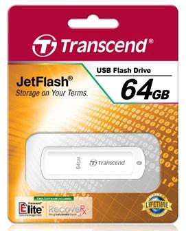 Фото Флеш-диск USB 2.0 Transcend 64Gb JetFlash 370 TS64GJF370 белый