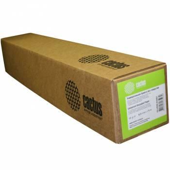 """Фото Бумага Cactus универсальная бумага для плоттеров без покр 36"""",914ммх45,7м. 90 г/кв.м втулка 50,8мм (2"""")"""