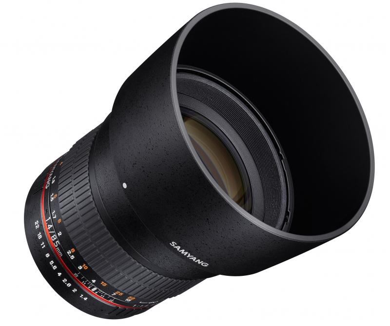 Объектив SAMYANG MF 85mm f/1.4 AS IF Pentax
