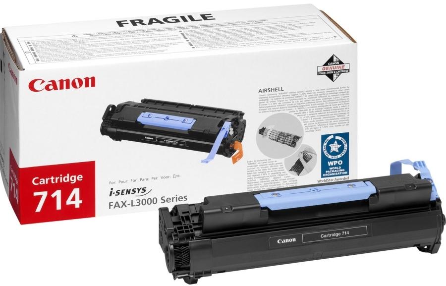 Картридж лазерный Canon Тонер картридж canon 714 1153b002 для l3000/3000ip (4 500 стр)
