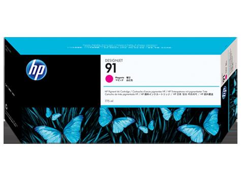 Картридж струйный HP 91 C9468A Pigment (775 мл) Magenta для DJ Z6100