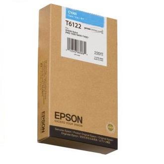 Фото Картридж струйный Epson C13T612200 cyan для Stylus Pro 7400/9400 (220ml)