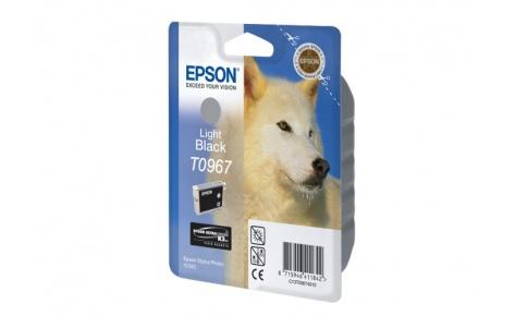 Фото Картридж струйный Epson C13T09674010 для Stylus Photo R2880 (light black)