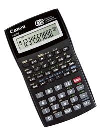 Калькулятор Canon F-502, 10+2 разр., научный, 140 функций, 1 независимая ячейка памяти.