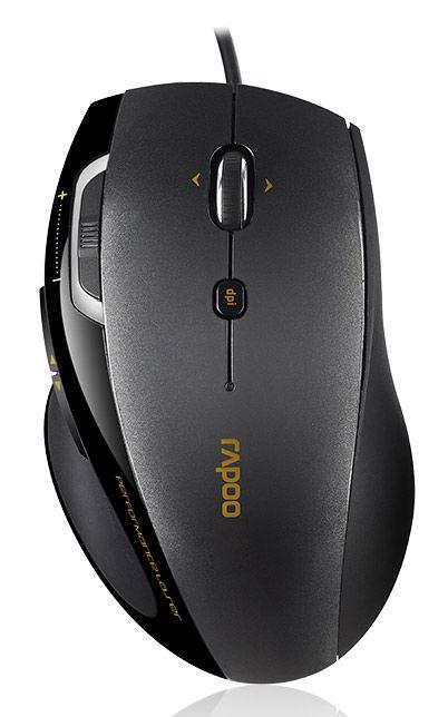 Мышь проводная Rapoo