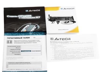 Фото Клавиатура проводная A4Tech KR-750 черный USB