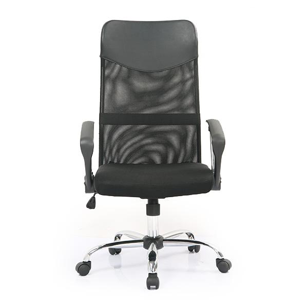 Кресло College кресло руководителя h-935l-2 черный, ткань сетчатый акрил, 120 кг, крестовина хром/металл, п
