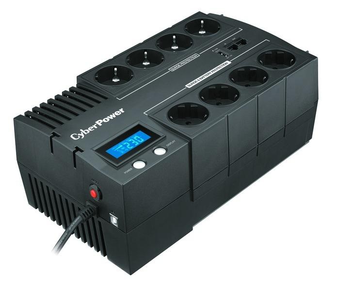 Блок питания Cyberpower br1200elcd 1200va/720w usb/rj11/45 (44 euro)